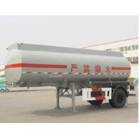 Quality 13000L-1 Axles-Aluminum Tanker Semi-Trailer for methyl alcohol for sale