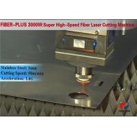 Quality 8000mm×2500mm CNC Metal Cutting Machine Laser Source For Cutting Metallic Material for sale