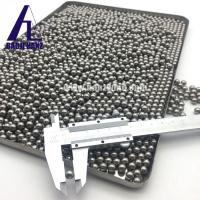 Quality hot sale all kinds of size 18g/cc tungsten pellet tungsten shot tungsten ball bead for hunting for sale