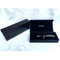 Quality Luxury Foldable Custom Gift Pen Box Handmade With Matt Lamination , 190×85×35mm for sale