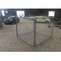 Quality Construction Building Rubbish Cage Brisbane Cage With 2 Gates / Lids for sale