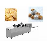 Quality Snack Bar Candy Making Machine Heat Preservation Batch Roller And Rope Sizer for sale