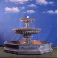 China Resin Garden Water Fountain-Watter Mill&little pond on sale