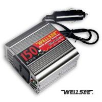 Quality Electric Power Inverter Wellsee DC12V AC110V/220V 150W CE (WS-IC150) for sale
