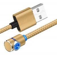 China 90 Degree Magnetic USB Cable 2.4A  Stable For Iphone XS / Smartphone on sale