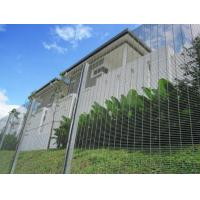 Quality Vandal Proof 358 Mesh FencingRHS C/W Clamp Bar H Type Post 1.27x2.5m Panel for sale