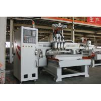 Quality Multi Head 4 Axis Cnc Router 1325 Adopt High Powerful Professional Vacuum Pump for sale
