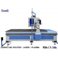 Quality MDF Plate Cutting 3 Axis CNC Router Machine With Infrared Sensing System for sale