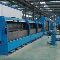 China Double Wires Copper Wire Drawing Machine Sliding Heavy Duty With No Alternating Bending on sale
