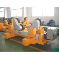 Quality VFD Control Self Aligned Welding Rotator Wheel Frame With PU Coated for sale