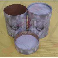 Buy Sealing Cylinder Food Packaging Tubes Cardboard Gift Box Soy Ink Print at wholesale prices