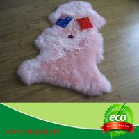 Quality synthetic high quality cheap price sheepskin rug sheep fur rugs for sale
