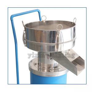 China 0.55 Kw Powder Sieving Machine , Powder Sifter Machine 400 Mm Diameter on sale