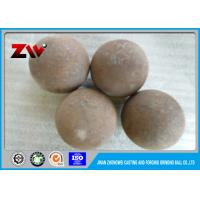 Quality High Chrome Forged steel grinding balls for mining / ball mill HRC 55-65 for sale