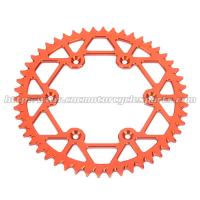 Quality KTM MX Dirt Bike Sprockets Chain High Performance Racing Design for sale