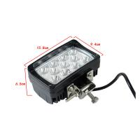 China 33W CREE LED Work Lights For Trucks Tractor Off road Jeep LED Lights on sale