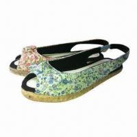 Quality Children's fashion wedges shoes/kids shoes, fabric lining, in various colors, designs and styles for sale