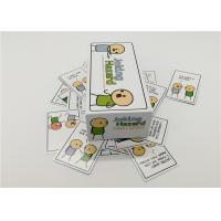 Quality Easy Style Joking Hazard Card Game For Family Friends 10.2*20.3*7.1cm for sale
