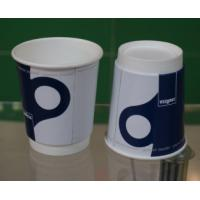 Quality Custom Disposable Coffee Cups PE Coating Paper Offset Flexo Printing for sale