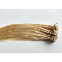 Quality Top grade Brazilian hair 50g 613# 24 inch 6D human hair extensions for sale