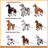 Quality Moving Horse Toys For Kid, Walking Mechanical Horse Toy, Children ride on plush Animal Toy for sale