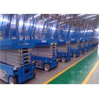 Quality Zero Emission Self Propelled Lift , Aerial Work Platform 6-14m Dimensional Stable for sale