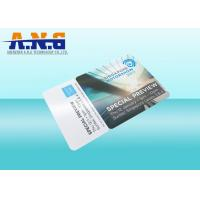 Quality ISO14443A Plastic DESFire EV2 Smart Cards Custom Printing 13.56Mhz for sale