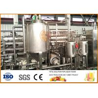 Quality 6T/day  Juice Paste Jam Tube In Tube Sterilization machine for sale