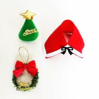 Quality Gift Wrapping Toppers Craft Cute Mini Plastic Christmas Craft Toppers for sale
