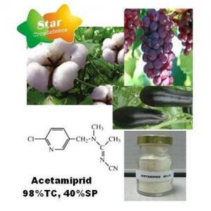 Insecticide--Acetamiprid 98%TC, 40%SP