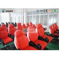 China Dynamic Movie Theater Seats In 5D Motion Theatre With Electric / Pneumatic / Hydraulic System on sale