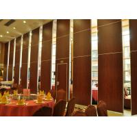 Quality Acoustic Room Dividers Movable , Sandwich Panel Walls Single Or Double Door for sale