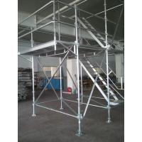 Light Weight Scaffolding : Light weight aluminum ring lock scaffolding system with