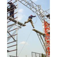 China 8m Maintenance Modular Climbing Scaffolding / Aluminum alloy Ladder Scaffolding on sale