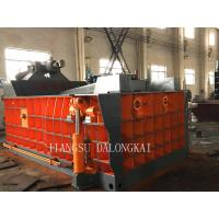 Buy Baler Turn Out Manual and Automatic Control Y81 Series Metal Baling Machine at wholesale prices