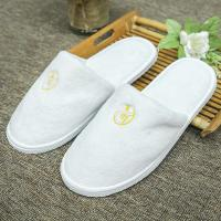 China Cheap Wholesale Custom Terry Massaging Slippers For Hotel Flat Travel Spa Disposable Slipper on sale