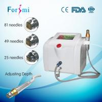 Quality 2016 best factory price portable skin lifting anti aging rf fractional microneedle machine for sale
