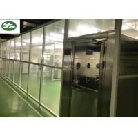 China 110V / 220V Clean Room Booth , Laminar Flow Booth With H14 Filter Grade on sale