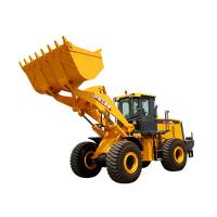 Quality 3.5m³ XCMG Wheel Loader LW600KN Heavy Equipment Road Construction Machinery With Guide Control for sale