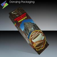 Quality Colorful Food Grade PET / AL / PE One Way Valve Coffee Bags High Barrier for sale