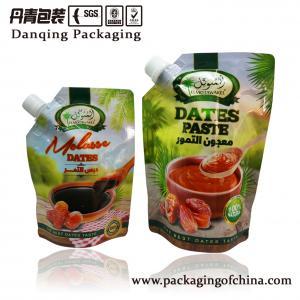 Quality Paste nozzle Aluminium Foil Bag / stand up pouch with spout for sale