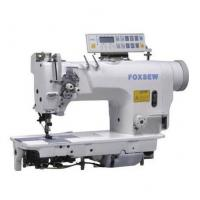 China Computer-controlled Direct Drive Fixed Needle Bar Double Needle Lockstitch Sewing Machine on sale