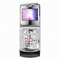 Quality QWERTY Clamshell Phone with GSM850/900/1800/1900MHz Network/Wi-Fi/FM/Bluetooth/JAVA/GPS for sale