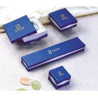 China Hand Made Paper Pendants Jewellery Set Gifts Box Foil Stamping, Customized Logo on sale