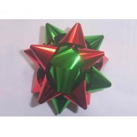 "Quality Multi material and colors gift decoration star bow christmas decoration 2"" - 4"" for sale"