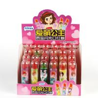 China Sugar free candy Lipstick shape lollipop Multi fruit flavor packed in box on sale
