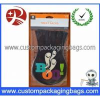 Quality Colorful Environmental Plastic Treat Bags Custom Thickness For Halloween Party for sale