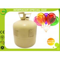 Quality 22L / 13L Disposable Helium Tank Steel Industrial Grade Protable for sale