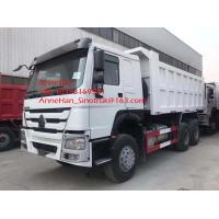 Quality White Color Sinotruk Howo7 Heavy Duty Dump Truck , 10 Wheeler 20 Tons 6x4 Tipper Truck for sale