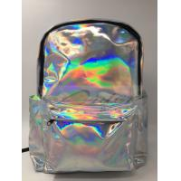 Quality Customized Logo Laptop Messenger Bags Laser PU Hologram Backpack PU Material for sale